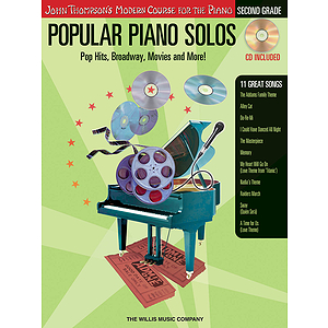 Popular Piano Solos - Grade 2 - Book/CD Pack