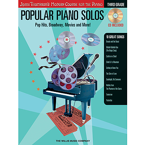 Popular Piano Solos - Grade 3 - Book/CD Pack