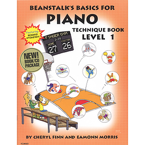 Beanstalk&#039;s Basics for Piano - Technique Books