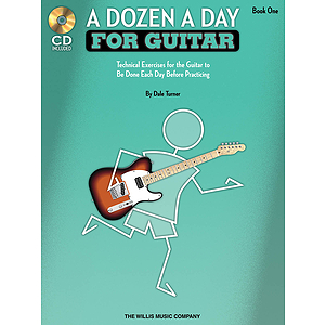 A Dozen a Day for Guitar - Book 1