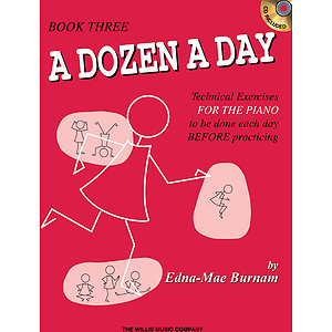 A Dozen a Day Book 3 - Book/CD Pack