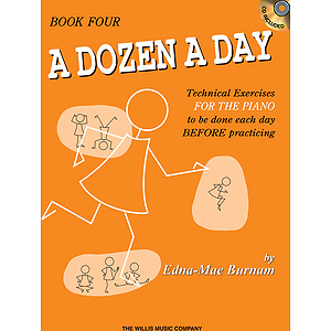 A Dozen a Day Book 4 - Book/CD Pack