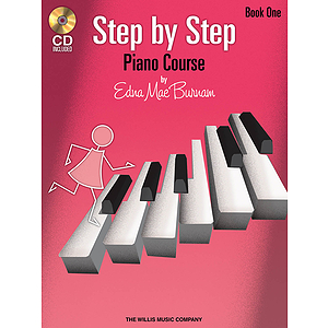 Step by Step Piano Course -¦Book 1 with CD
