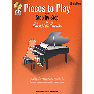 Pieces to Play - Book 5 with CD