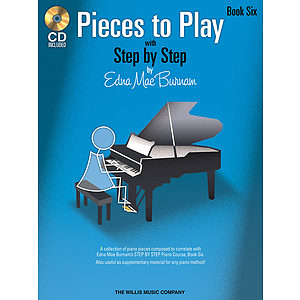 Pieces to Play - Book 6 with CD