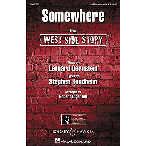 Somewhere (from West Side Story)