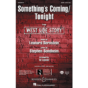 Something's Coming/Tonight (from West Side Story)