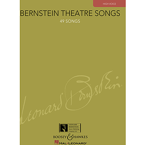 Bernstein Theatre Songs