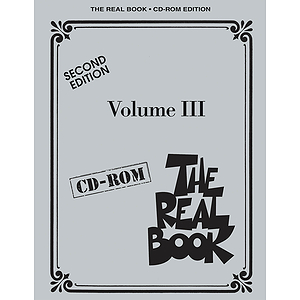 The Real Book Volume III - Second Edition - CD-ROM