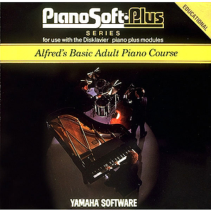 Alfred&#039;s Basic Adult Piano Course Lesson Book Level 1 Disk