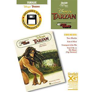 Disney&#039;s Tarzan - E-Z Play Today