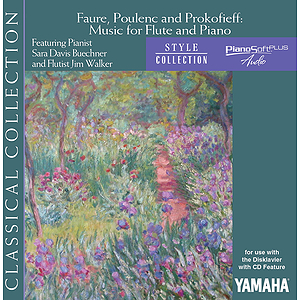 Fauré, Poulenc and Prokofiev - Music for Flute and Piano