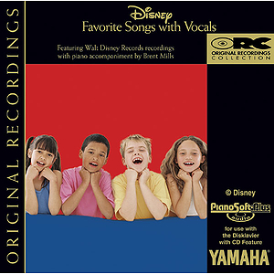 Disney Favorite Songs with Vocals