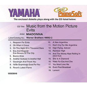 Madonna - Music from the Motion Picture Evita