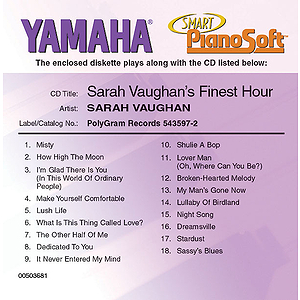 Sarah Vaughan's Finest Hour