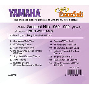 John Williams Greatest Hits: 1969-1999 (2-Disk Set)