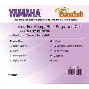 Gary Burton - For Hamp, Red, Bags and Cal
