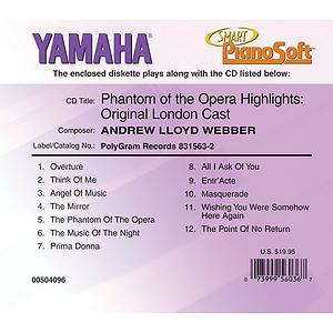 Phantom of the Opera Highlights: Original London Cast