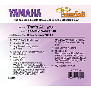 Sammy Davis, Jr. - That's All! (2-Disk Set)