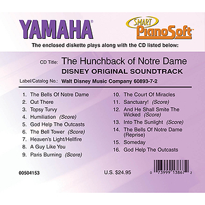 The Hunchback of Notre Dame (Disney Original Soundtrack)