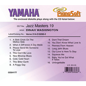 Dinah Washington - Jazz Masters 19