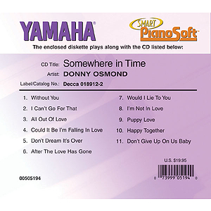 Donny Osmond - Somewhere in Time