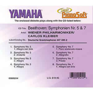 Beethoven: Symphonien Nr. 5 & 7