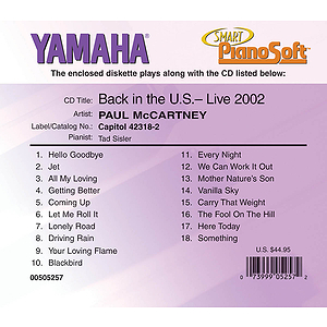 Paul McCartney - Back in the U.S., Live 2002 (2-Disk Set)