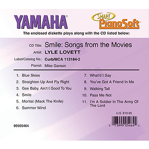 Lyle Lovett - Smile: Songs from the Movies