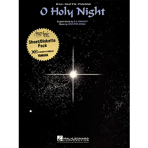 O Holy Night (Big-Note Piano)