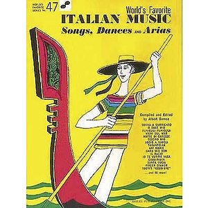 Italian Music - Songs, Dances and Arias