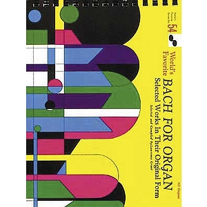 Bach For Organ Vol1 54 Worlds Favorite