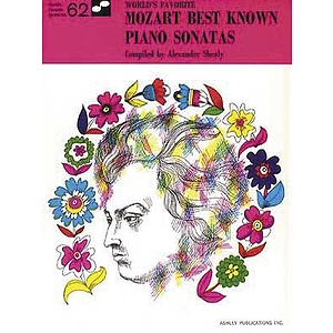 Mozart Best Known Piano Sonatas 62 Worlds Favorite