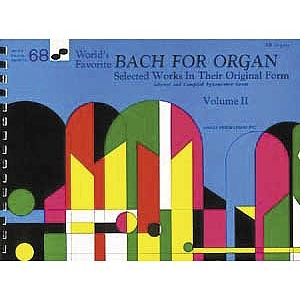 Bach For Organ 68 Worlds Favorite