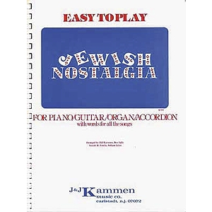 Jewish Nostalgia Easy P/V International Songbook