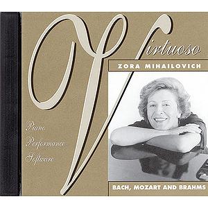 Zora Mihailovich - Bach, Mozart and Brahms