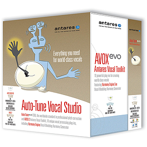 Antares Auto-Tune Evo with Vocal Studio Plus AVOX - TDM Edition