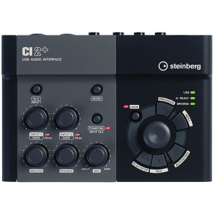 Steinberg CI2+ USB Audio Interface with Cubase Essential 5