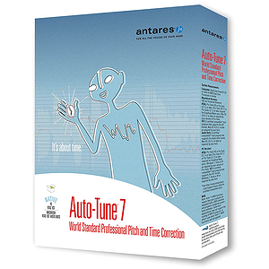 Antares Auto-Tune 7 Pitch and Time Correction Software - Native