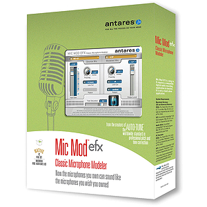 Antares Mic Mod EFX Microphone Modeling Software