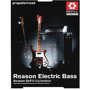 Propellerhead Reason Electric Bass Refill Pack