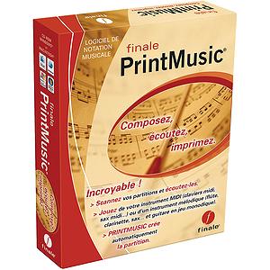 Finale PrintMusic 2009 - Edition française