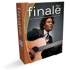 Finale 2012 Notation & Composition Software - Academic Version