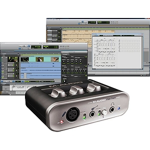 Avid Fast Track II + Pro Tools SE Home Recording Package