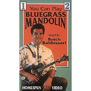 You Can Play Bluegrass Mandolin (VHS)