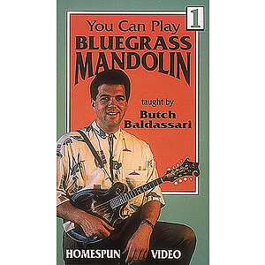 You Can Play Bluegrass Mandolin - Video One (VHS)