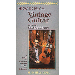 How to Buy a Vintage Guitar (VHS)