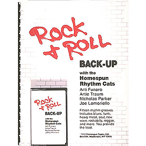 Rock And Roll Back-Up Cassette - Level All (Includes Tab) One Cassette