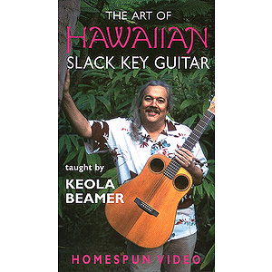 The Art of Hawaiian Slack Key Guitar (VHS)