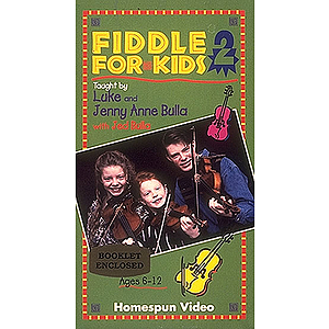 Fiddle for Kids - 2-Video Set (VHS)